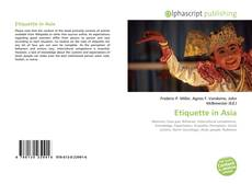 Bookcover of Etiquette in Asia