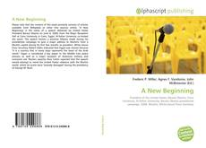 Bookcover of A New Beginning