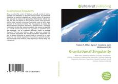 Bookcover of Gravitational Singularity