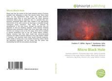 Buchcover von Micro Black Hole
