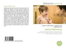 Обложка Iodine Deficiency