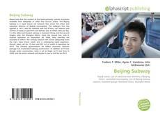 Buchcover von Beijing Subway