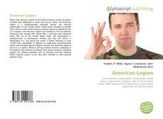 American Legion的封面