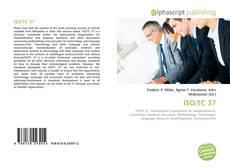 Buchcover von ISO/TC 37