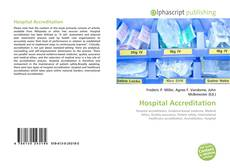 Bookcover of Hospital Accreditation