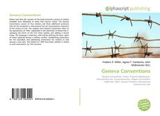 Bookcover of Geneva Conventions