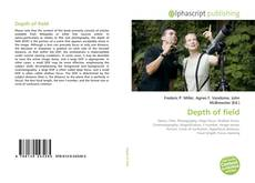 Bookcover of Depth of field