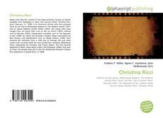 Borítókép a  Christina Ricci - hoz