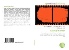 Bookcover of Akshay Kumar