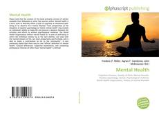 Capa do livro de Mental Health