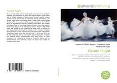 Bookcover of Cesare Pugni