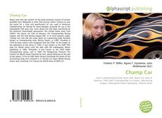 Bookcover of Champ Car