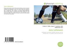 Bookcover of Jens Lehmann