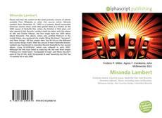 Bookcover of Miranda Lambert