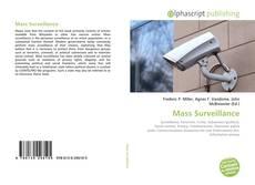 Bookcover of Mass Surveillance
