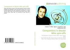 Portada del libro de Companions in Doctor Who spin-offs