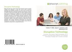 Disruptive Technology kitap kapağı