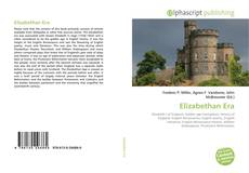 Bookcover of Elizabethan Era