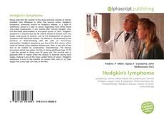 Capa do livro de Hodgkin's lymphoma