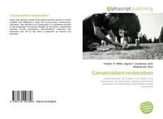Bookcover of Conservation-restoration