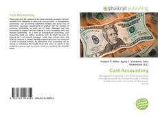 Bookcover of Cost Accounting