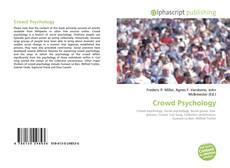 Couverture de Crowd Psychology