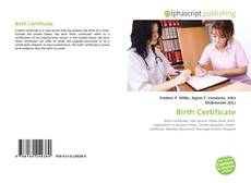 Borítókép a  Birth Certificate - hoz