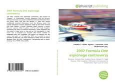 Capa do livro de 2007 Formula One espionage controversy