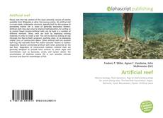 Bookcover of Artificial reef