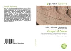 Bookcover of George I of Greece