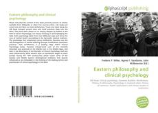 Bookcover of Eastern philosophy and clinical psychology