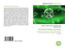 Bookcover of Inclusion body myositis
