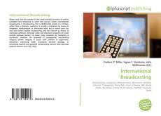 Buchcover von International Broadcasting
