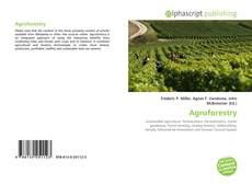 Bookcover of Agroforestry