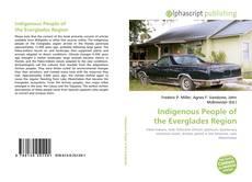 Portada del libro de Indigenous People of the Everglades Region
