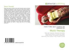 Buchcover von Music Therapy