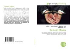 Crime in Mexico kitap kapağı
