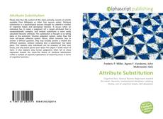 Buchcover von Attribute Substitution