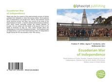 Обложка Ecuadorian War of Independence