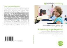 Bookcover of Euler–Lagrange Equation