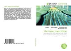 Bookcover of 1941 Iraqi coup d'état