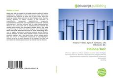Обложка Halocarbon