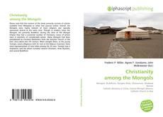 Copertina di Christianity among the Mongols
