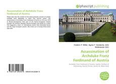 Buchcover von Assassination of Archduke Franz Ferdinand of Austria