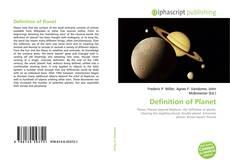 Borítókép a  Definition of Planet - hoz