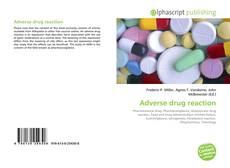 Couverture de Adverse drug reaction