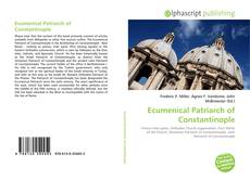 Обложка Ecumenical Patriarch of Constantinople