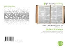 Portada del libro de Biblical literalism