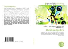 Portada del libro de Christina Aguilera
