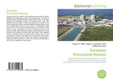 Bookcover of European Pressurized Reactor